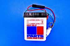 Parts Unlimited 6-Volt Conventional Battery Kit 6N4-2A-8-FP