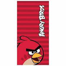Angry Birds Beach Towel, Red Bird Character Kids