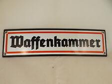 """Wehrmacht esmaltes escudo """"sala de armamento"""" mg42 Stgw 44 cuartel carabina 98k p08"""