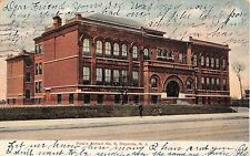 1906 Public School #8 Bayonne NJ post card