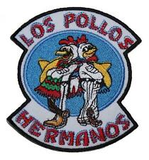 Breaking Bad Los Pollos Hermanos Badge Embroidered Patch Sew on Iron-on 4""