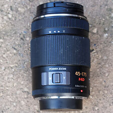 Panasonic Lumix G 45-175 mm camera lens with Power Zoom