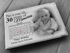 """GUESTBOOK personalizzato PHOTO ALBUM 36 x 6x4 """"FOTO trentesimo festa di compleanno regalo"""