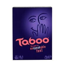 NEW HASBRO TABOO BOARD GAME GREAT PRICE  Ages 13+ A4626