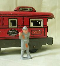 Train Yard Hobo with bindle, O scale model train layout figure, Reproduction