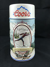1991 Coors - The Rocky Mountain Legend Series - Collectible Beer Stein Excellent