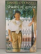 DANIEL O'DONNELL IN CONCERT ~ SHADES OF GREEN ~ VHS VIDEO ~ ALL REGIONS