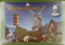 CPA Germany Nordsee Windmühle Windmill Moulin Mill Molin Hotel Taube Pigeon w299