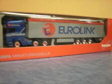 Herpa LKW Scania R Topl./Aerop. Schubboden-SZ Eurolink 305617