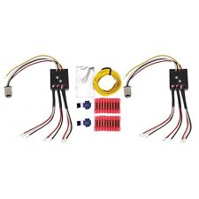 PAIR!!  Sequential Tail Light Module Kit 3 LED  Universal Conversion 12V