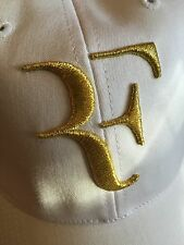 Wimbledon '5' Trophy / Gold Federer hat / cap (347948-100).  New With Tags.