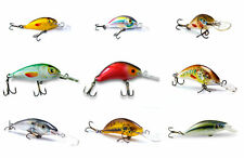 LOT OF 9 UGLY DUCKLING FISHING LURES, AMAZING COLLECTION OF UNIQUE BALSA BAITS