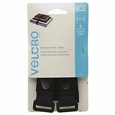 2 Packs Velcro Brand All Purpose Elastic Strap 27in x 1in 68.5cm x 2.5cm 2p