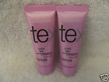 LOREAL Tex COLOR SHOW LISS Texturline Smoothing Shine Cream .71 oz ~ LOT of 3!!!