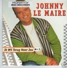 (342P) Johnny Le Maire, Ik wil terug naar jou - 1996 CD