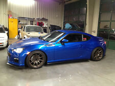 Subaru BRZ BottomLine Body Kit,rear lips,splitter,side skirts. polyurethane.