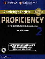 Cambridge English PROFICIENCY 2 with Answers & Online Audio CPE ESOL Exam @NEW@