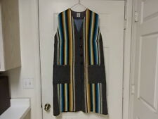 EXCELLENT COND FEW TIMES USED VINTAGE CHIMAYO ORTEGA HAND WOVEN INDIAN JACKET