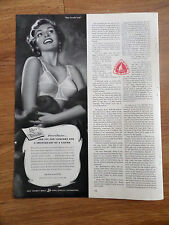 1951 Life Formfit Bra Girdle Ad  For a Sweetheart of a Figure