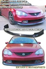 A-Spec Style Front Lip (Urethane) Fits 02-04 Acura RSX DC5