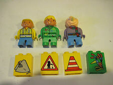 Lego Duplo Bob the Builder Characters (Bob, Wendy, Spud, & Blocks)