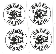 50 Gegen Nazis Aufkleber stickers mix Antifa Anti Nazi AFA Punk GNWP ARA 161
