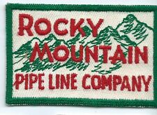 Rocky Mountain Pipeline Company employee/driver patch 2-1/2 X 3-3/4