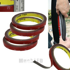 3m x 10mm 4x Auto Truck Car Acrylic Foam Double Sided Attachment Tape Adhesive