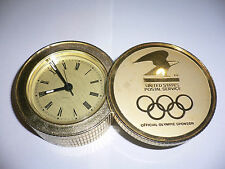 1984 OLYMPIC GAMES Los Angeles US POSTAL SERVICE (POST OFFICE) USPS ALARM CLOCK