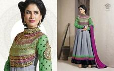 Indian Pakistani Latest Bollywood Anarkali Designer Dress Shalwar Kameez Suit