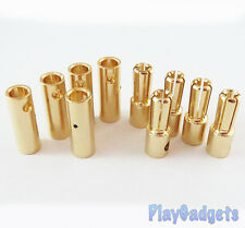 5mm Bullet Connectors 5 Pairs Banana Connector