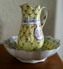 Lovely, Vintage / Antique Limoges China, France, French Pitcher and Bowl Set