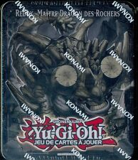 TIN BOX YU-GI-OH! 2013 VAGUE 2 - REDOX, MAÎTRE DRAGON DES ROCHERS
