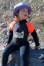 NEW - Kids 3mm full wetsuit all watersports / beach use (sizes for 1 to 8 years)