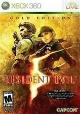 XBOX 360 GAME RESIDENT EVIL 5 GOLD EDITION BRAND NEW & SEALED