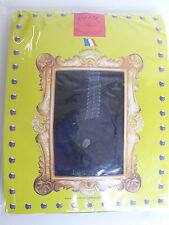 BERTHE - Collant fantaisie Taille 1/2 - noir bleu violet