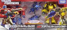 New Takara Tomy Transformers Generations TG24 Optimus Prime & Bumblebee Painted