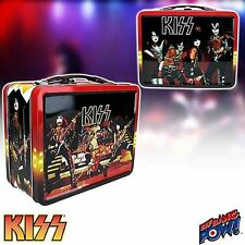 KISS Lunch Boxes Classic Tin Tote