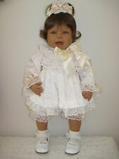 "Lee Middleton Toddler Doll 24"" LMODI Full vinyl straight leg Reva Schick 1997"