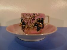 Miniature Tea Cup With Raised Pattern - Made In Germany