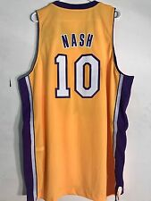Adidas Swingman NBA Jersey Lakers Steve Nash Gold sz XL