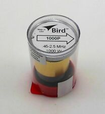Bird 43 Wattmeter Element 1000P 0.45-2.5 MHz 1000W New