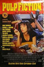 Pulp Fiction 27x40 Video Release Movie Poster 1994 Miramax