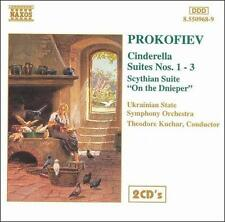 Prokofiev: Cinderella Suites Nos. 1-3; Scythian Suite; On the Dnieper CD GERMANY