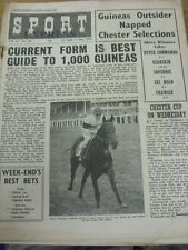 "29/04/1955 Sport Express Magazine: Vol.17, No.381 - ""Current Form Is Best Guide"
