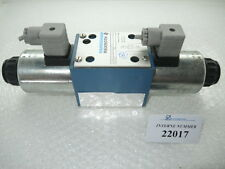 4/3 way valve Rexroth No. 5-4WE 10 E32/CG24N9Z4, Demag injection molding machine