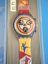 Vintage 3 Watches-Olympic Swatch, Sabbadini, & Huqiang Jewelry