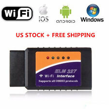 ELM327 WiFi OBD2 Car Diagnostics Scanner Scan Tool for iPhone iOS Android & PC K