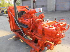 12V71 DETROIT DIESEL ENGINE power unit with twin disc drive & sun strand pumps