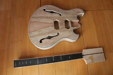 New Brand Project Electric Unfinish Guitar Without Parts